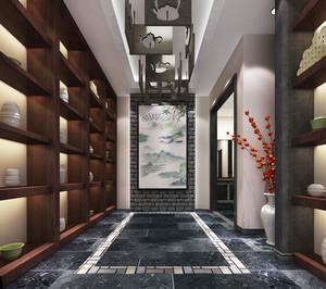 中式风格餐厅设计装修效果图