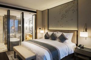 现代风格精致酒店客房设计装修效果图