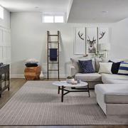 北欧风格自然简约客厅设计装修图