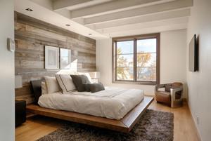北欧风格原木清新卧室装修效果图赏析