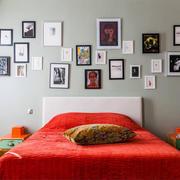 后现代风格精美卧室背景墙装修效果图赏析