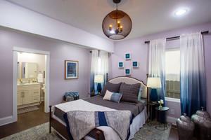 混搭风格时尚精美卧室装修图