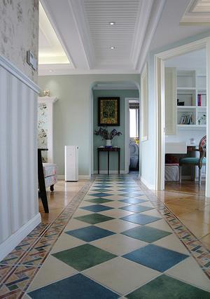 97平米欧式田园风格精美两室两厅室内设计装修图