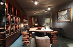 现代风格时尚创意大户型餐厅装修效果图