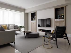 75平米现代风格精致一居室室内设计装修效果图