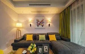 88平米现代风格时尚两室两厅室内设计效果图