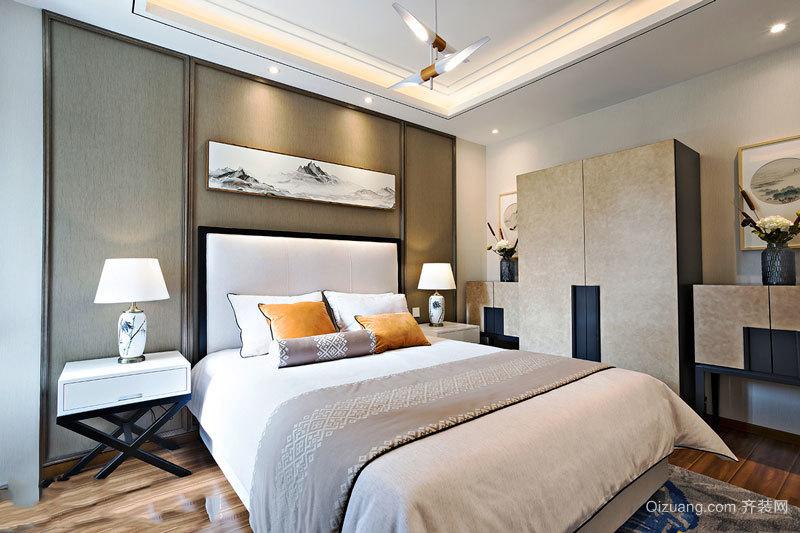 新中式风格精致卧室装修效果图赏析