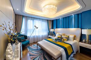 新中式风格精美活力卧室装修效果图赏析