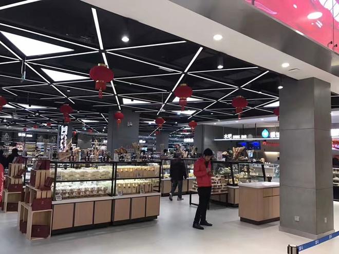 90平米现代风格超市装修效果图赏析