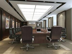 现代风格精致会议室吊顶装修效果图赏析
