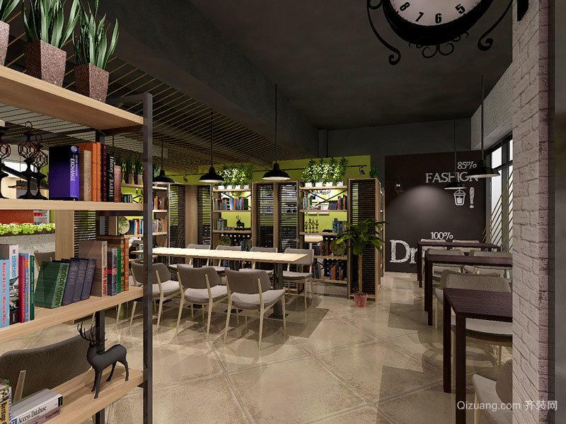 乡村风格主题咖啡厅设计装修效果图图片