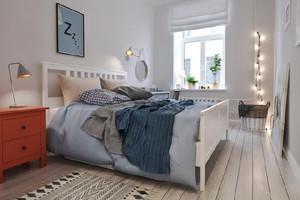 北欧风格精美时尚单身公寓装修效果图赏析