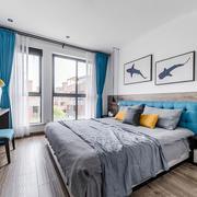 北欧风格简约清新卧室装修效果图赏析