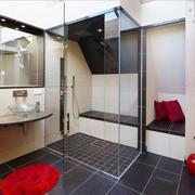 现代风格精致大户型卫生间淋浴房装修效果图