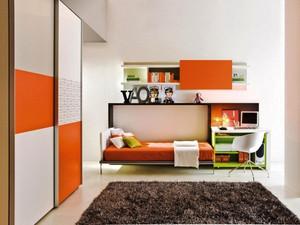 现代简约风格时尚儿童房装修效果图大全