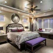 新古典主义风格大户型奢华卧室飘窗装修效果图