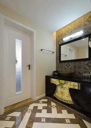 新中式风格古朴与时尚大户型室内装修效果图
