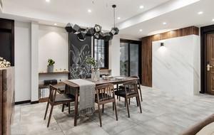 新中式风格典雅气质餐厅装修效果图