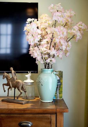 新中式风格精致三室两厅室内装修效果图