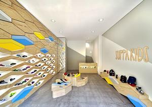 现代简约风格时尚鞋店装修效果图