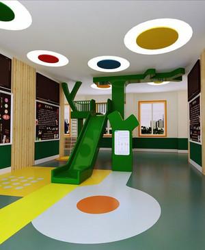 现代风格可爱童趣幼儿园装修效果图赏析