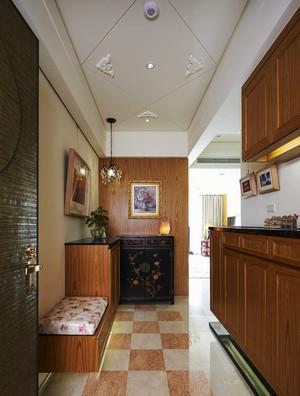 136平米混搭风格精致三室两厅室内设计装修效果图