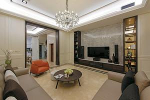 140平米简欧风格精装三室两厅室内设计装修效果图