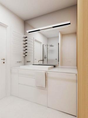 52平米简约风格整洁单身公寓装修效果图
