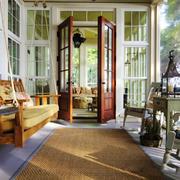 欧式风格别墅时尚阳台设计装修效果图