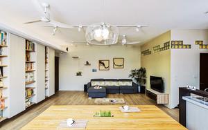 80平米日式风格简约室内设计装修效果图赏析