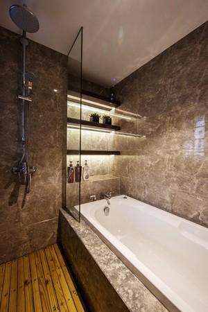 112平米现代风格精装两室两厅装修实景图鉴赏