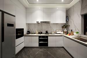现代风格精致白色厨房装修效果图赏析