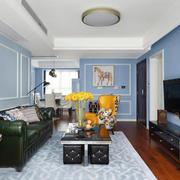 新古典主义风格精美客厅设计装修效果图