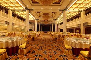 欧式风格精致酒店豪华餐厅装修效果图