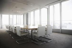 70平米现代简约风格会议室装修效果图