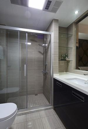 74平米简欧风格精美一居室装修效果图案例