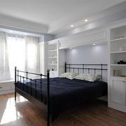 简欧风格白色卧室装修效果图赏析