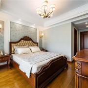 美式风格复古精致卧室装修效果图赏析