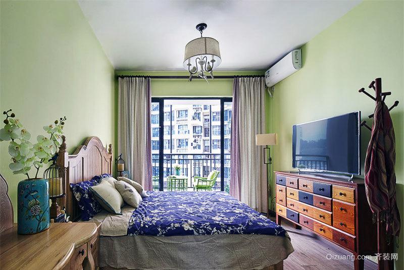 美式田园风格卧室装修效果图赏析