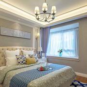 新古典主义风格大户型卧室装修实景图