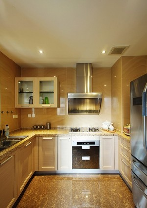 90平米中式精装室内设计装修效果图案例