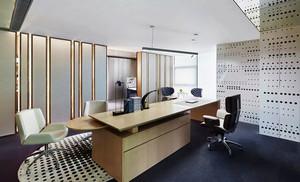 现代风格精致老总办公室装修效果图赏析
