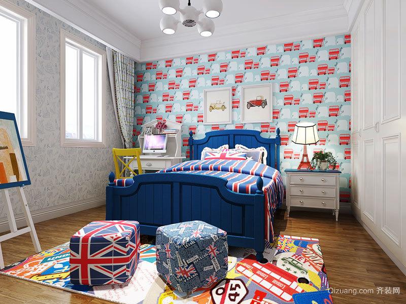 地中海风格时尚儿童房设计装修效果图赏析