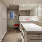 简欧风格精装整体厨房装修效果图赏析