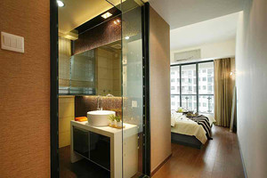 80平米现代风格精致室内设计装修效果图