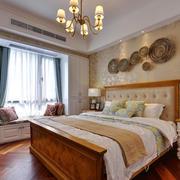 美式风格精致别墅卧室装修效果图鉴赏