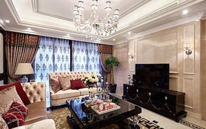 300平米欧式风格奢华精美别墅装修效果图案例赏析