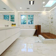 12平米现代风格精致卫生间装修效果图赏析