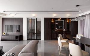 146平米现代风格大户型室内设计装修效果图