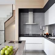 现代简约风格开放式厨房装修效果图赏析